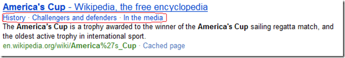america's cup search result wikipedia Bing